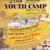 26th Annual Youth Camp – New York (7/21 – 7/27)
