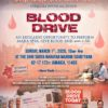 Annual Blood Drive (3/1)